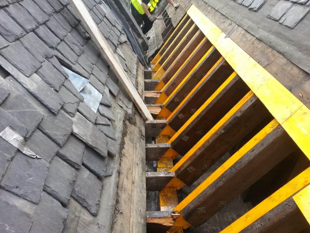 Rafter repairs