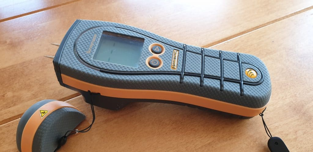 electrical moisture meter is a diagnostic tool for mapping moisture